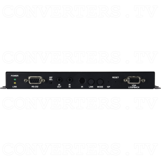 HDMI/VGA over IP Extender with USB/LAN Serving - ID#15441 Front View.png