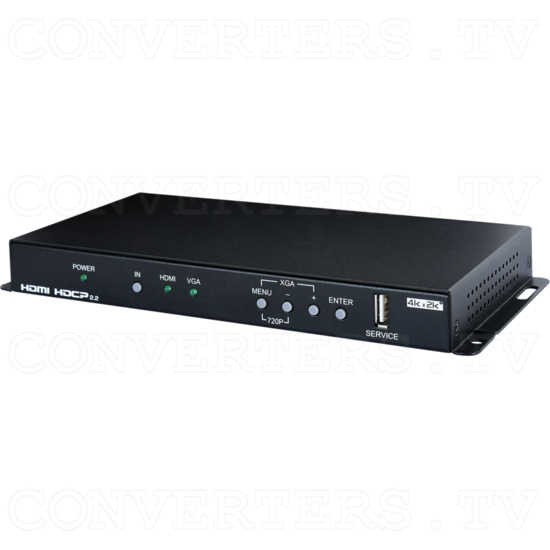 HDMI, VGA and Component Video to 4K UHD+ HDMI Scaler - ID#15479 Full View.png