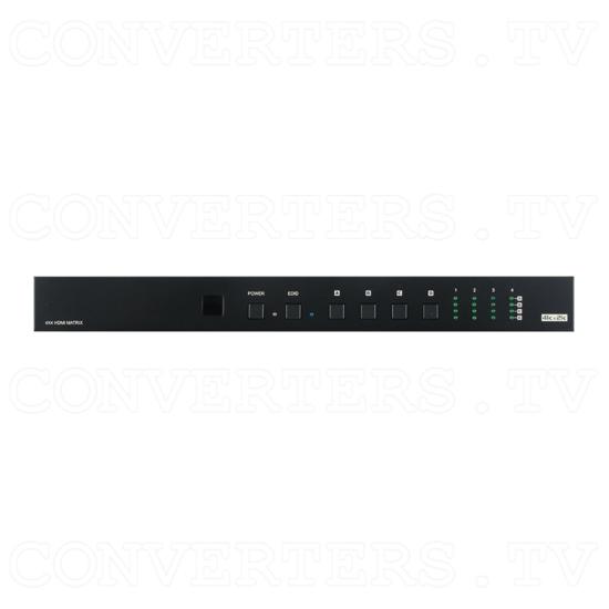 4x4 HDMI UHD 4K Matrix - ID#15538 Front View.png