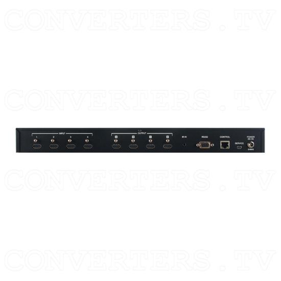 4x4 HDMI UHD 4K Matrix - ID#15538 Back View.png