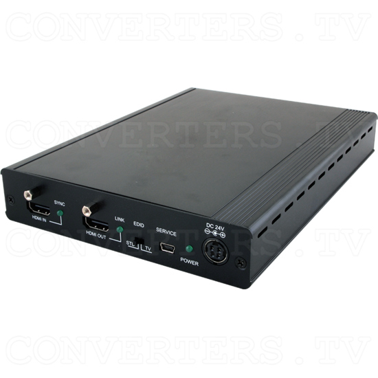 1x4 HDMI over HDMI and CAT5e/6/7 Splitter with 24v PoC - ID#15540 Full View.png