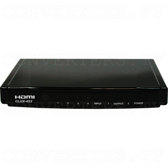 4x2 HDMI Switch - 4x2 HDMI Switch - Front View.png