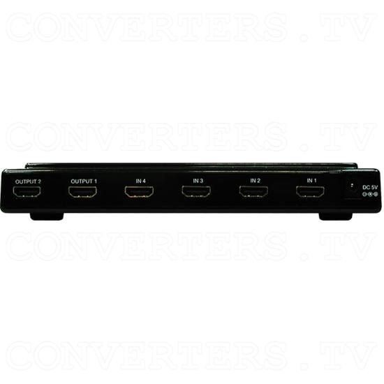 4x2 HDMI Switch - 4x2 HDMI Switch - Back View.png