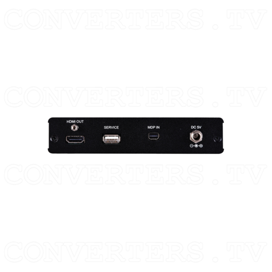 Ultra High Resolution Mini-DisplayPort to HDMI Scaler - Back View.png