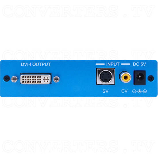 Composite and S-Video to DVI Scaler - Composite and S-Video to DVI Scaler - Back View.png