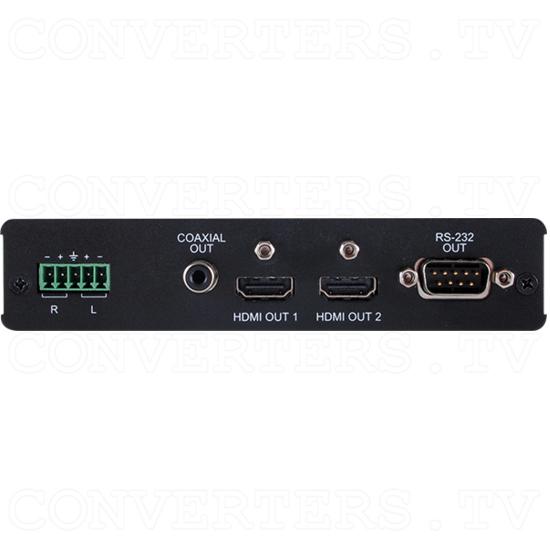 HDMI/Audio over CAT5e/6/7 Receiver/Splitter - HDMI/Audio over CAT5e/6/7 Receiver/Splitter - Front View.png