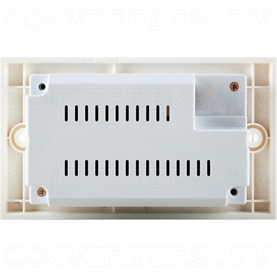 4K2K and 3D over CAT5e/6/7 Wall-plate Receiver with 24V PoC - 4K2K and 3D over CAT5e/6/7 Wall-plate Receiver with 24V PoC - Back View.png