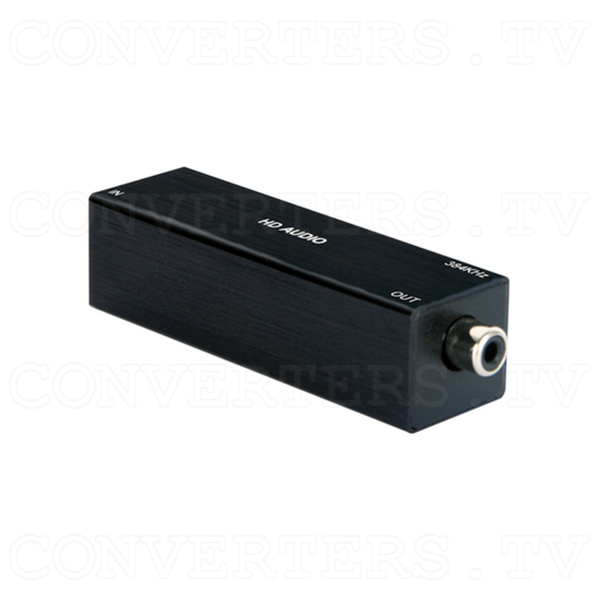 USB to Coaxial Audio Converter (up to 384kHz) - ID#15448 Full View.png