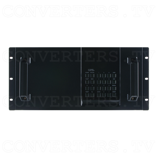 32x32 Modularized Enclosure (482 mm x 494 mm x 233 mm) - ID#15161 Front View.png