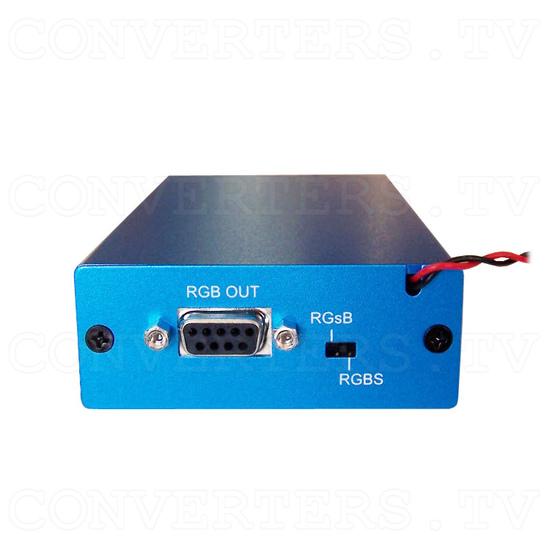Car Navigation Screen Dual Video PAL NTSC to RGB Converter - Front View