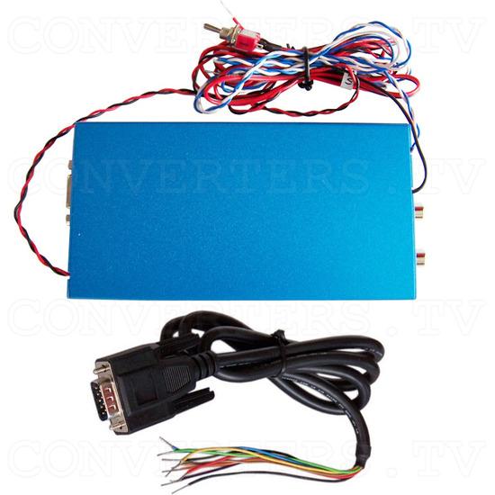 Car Navigation Screen Dual Video PAL NTSC to RGB Converter - Full Kit