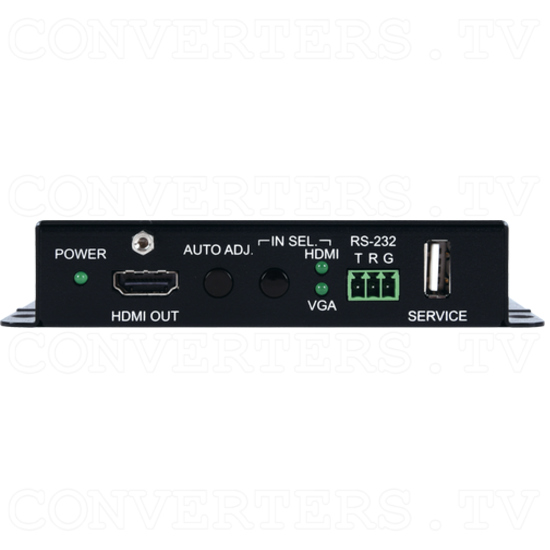 4K UHD HDMI/VGA to HDMI Switching Scaler - ID#15593 Front View.png