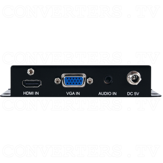 4K UHD HDMI/VGA to HDMI Switching Scaler - ID#15593 Back View.png
