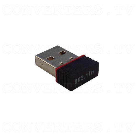USB Wifi Dongle - Angle Back View