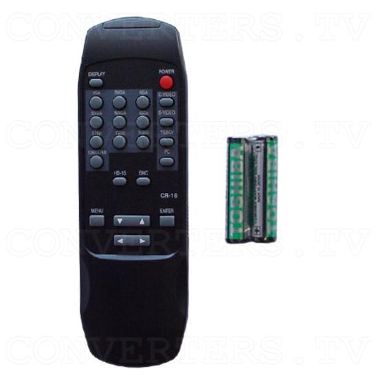 Professional Video Scaler CSC - 1600HDAR - Remote Control
