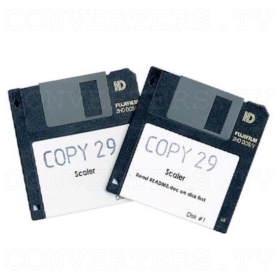 Professional Video Scaler CSC - 1600HDAR - Floppy Disk