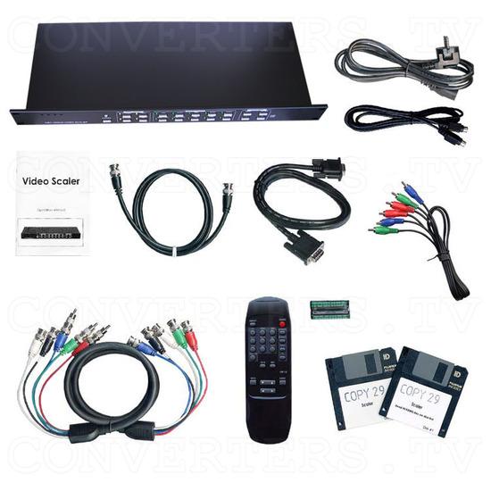 Professional Video Scaler CSC - 1600HDAR - Full Kit
